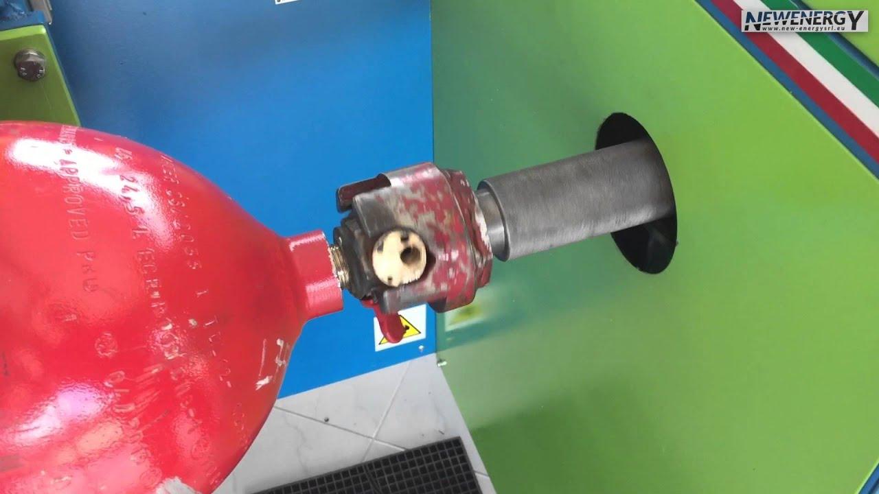 Dispositivi per sostituizione valvole di sicurezza bombole gas metano e autotrazione youtube - Bombole metano per casa ...
