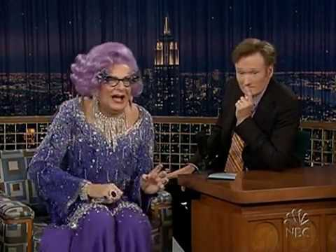 Conan O'Brien 'Dame Edna 4/8/05