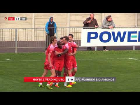 Hayes & Yeading v AFC Rushden & Diamonds - 21st Oct 2017