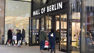 MALL OF BERLIN   SHOPPING    Leipziger Platz   Hollister   Шоппинг в крупном ТЦ Берлина