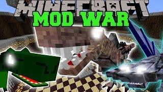 WAR OF THE DINOSAURS - Minecraft Mod War Battle - Mods