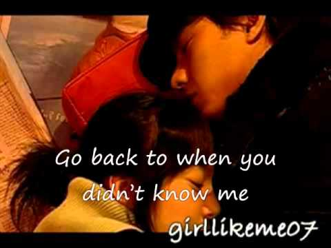 back to first time - I'm sorry I love you with lyrics.wmv