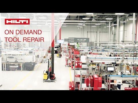 REVIEW of Hilti On Demand Tool Repair