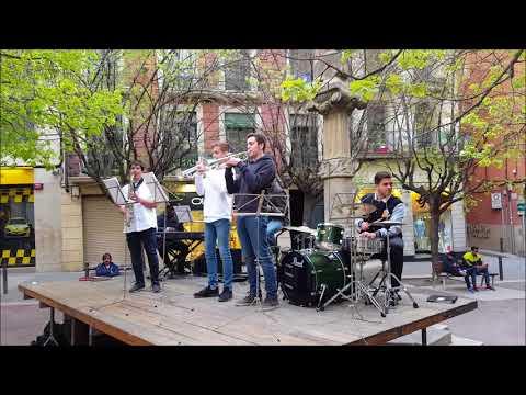 Música al carrer. Combo del Conservatori Municipal de Música de Manresa