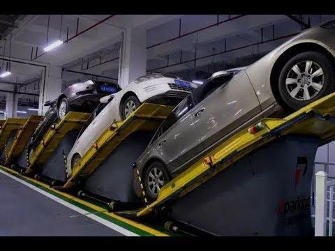 Автоматизированные парковки. Вот это да!
