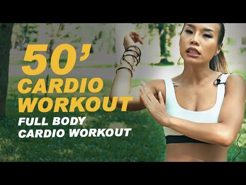 50 phút CARDIO WORKOUT giảm mỡ hiệu quả (500 calories) | Full Body Cardio Work Out with MICHELLE VO