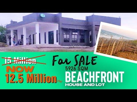 Beachfront Acreage Estate for sale in North Luzon Philippines
