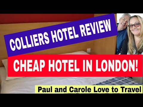 Cheap Hotel In Central London - Colliers Hotel Review