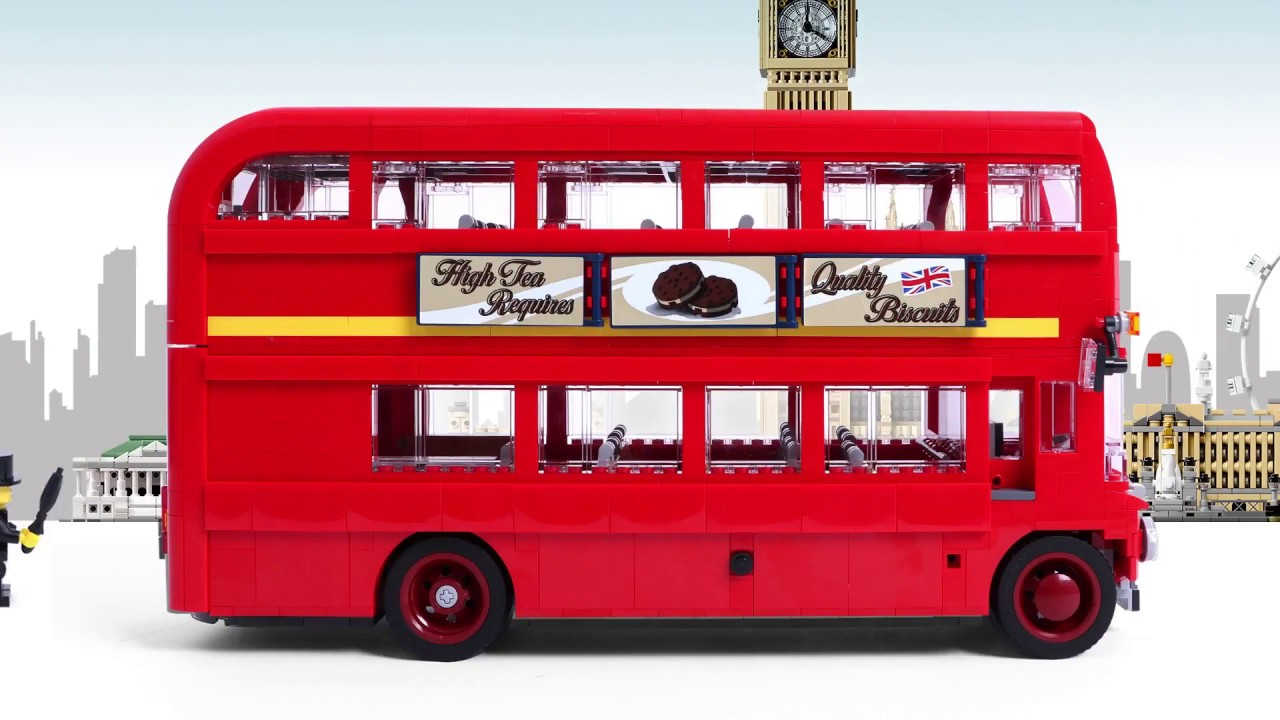 london bus 10258 lego creator quick build youtube. Black Bedroom Furniture Sets. Home Design Ideas