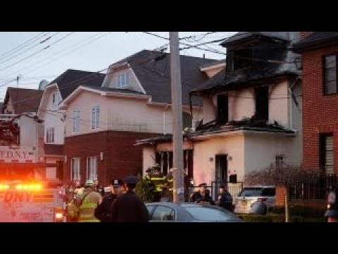 Deadly fire tears through New York City home