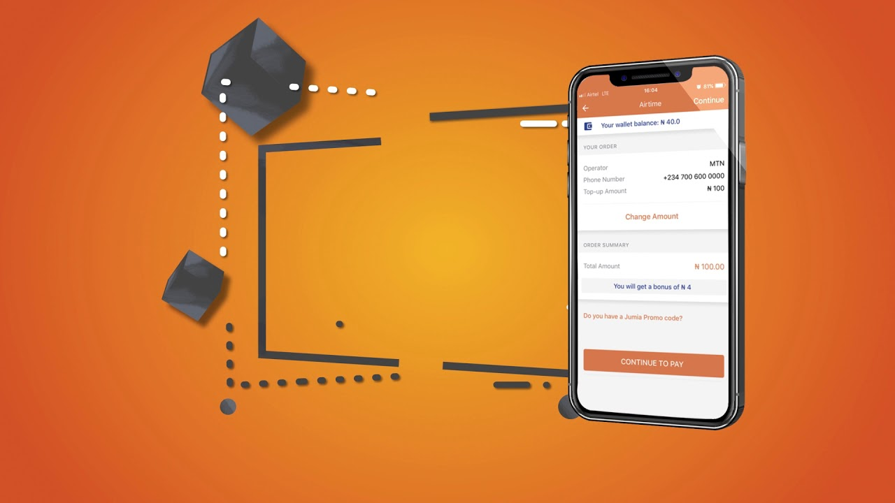 How To Buy Airtime Online With Jumia one
