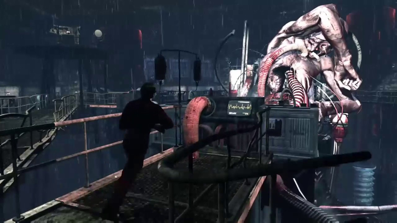 Silent Hill Downpour (Xbox One) The Wheelman Boss Fight ...