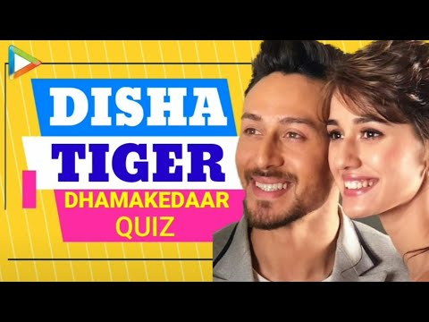 Baaghi 2 Duo Tiger Shroff, Disha Patani COMPETE Hard In Smashing REBEL QUIZ!