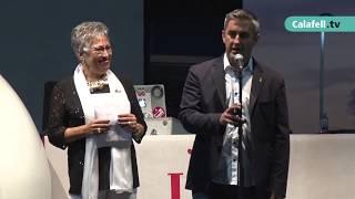 El pregó de Montserrat Civit obre la festa major de Segur de Calafell 2017