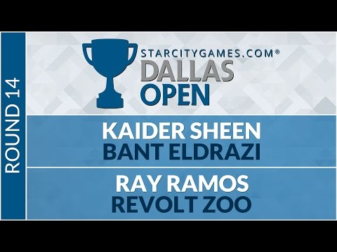 SCGDFW - Round 14 - Ray Ramos vs Kaider Sheen (Modern)