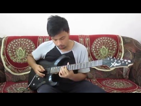 WWE The Rock Theme Guitar Cover - Indranath