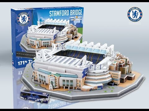 """Stamford Bridge"" del Chelsea F.C.   Nanostad - Puzzle 3D"