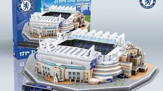 """Stamford Bridge"" del Chelsea F.C. | Nanostad - Puzzle 3D"