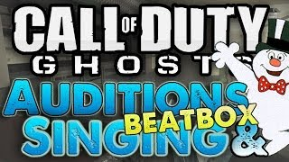 """FROSTY THE SNOW MAN!"" Call of Duty Auditions (GHOSTS SINGING & BEATBOXING)"