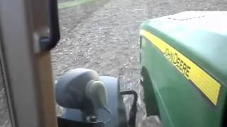 John Deere 8330 Field Cultivating Spring 2012