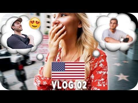 YOUTUBE STARS GETROFFEN!! - LOS ANGELES Daily Vlog #02 | AnaJohnson