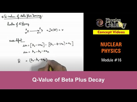 16.-physics-|-nuclear-reactions-|-q-value-of-beta-plus-decay-|-by-ashish-arora