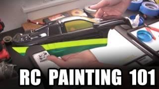 RC Painting 101  --  Lexan body basics w/ spray paint