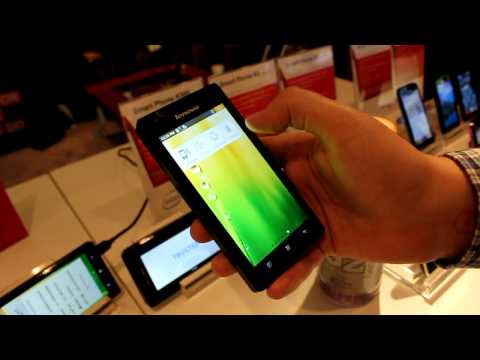 CES 2012: Lenovo K800 Android Phone Powered By Intel's Medfield Chip