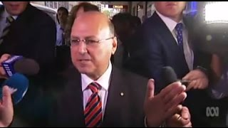 Questions for Arthur Sinodinos after Electoral Commission denies funding to NSW Liberals