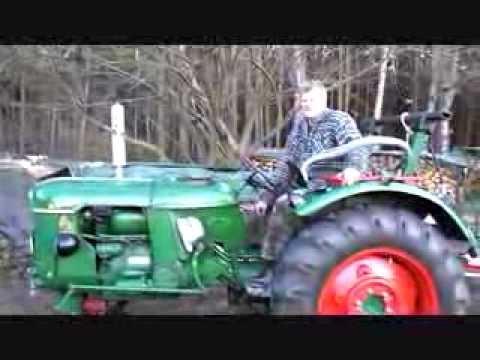 deutz d30s d30 s schlepper traktor im einsatz in. Black Bedroom Furniture Sets. Home Design Ideas
