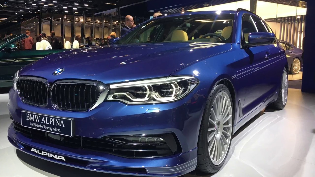 Bmw Alpina D5s And B5 Autoshow 2017 Frankf 252 Rt Youtube