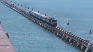 PAMBAN BRIDGE : One of the DEADLIEST BRIDGE in the WORLD : Over the SEA : Full Coverage + Journey