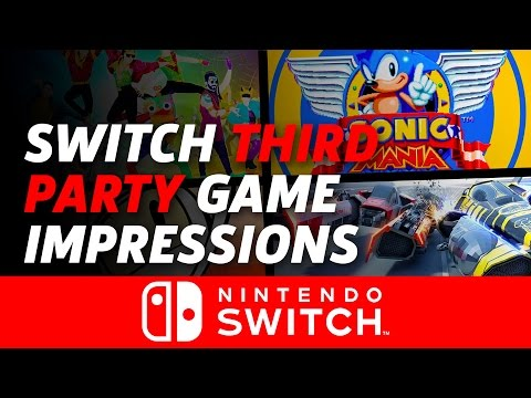 Nintendo Switch Third Party Games Impressions