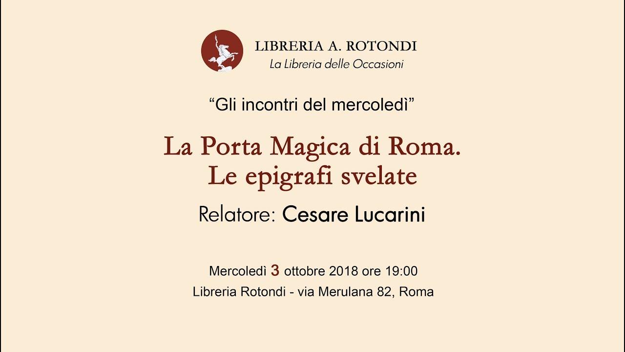 Libreria A Porta Di Roma la porta magica di roma