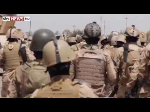 On The Iraqi Frontline In War Against Islamic State