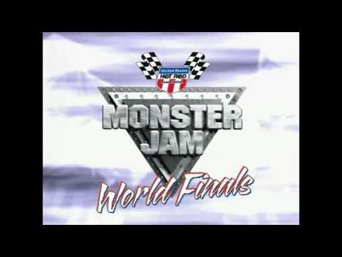 Freestyle Blue Thunder Monster Jam World Finals 2004