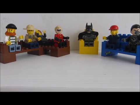 Como hacer MUEBLES LEGO (tutorial) - YouTube