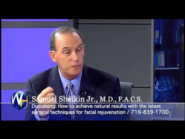 Facial Plastic Surgery with Buffalo, NY plastic surgeon Samuel Shatkin, MD