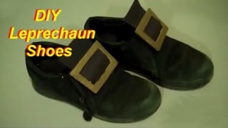 How to Make Leprechaun Shoes