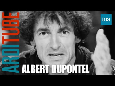 Albert Dupontel chez Thierry Ardisson  Archive INA