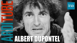 Albert Dupontel chez Thierry Ardisson | Archive INA
