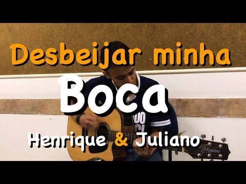 Desbeijar minha boca - Henrique e Juliano - Cover Dalmi Junior