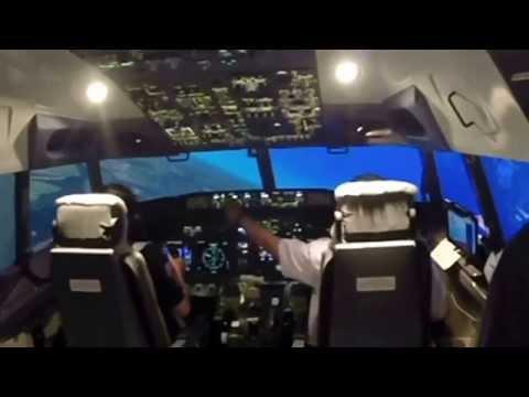Flight Simulator Experience at Gandaria City