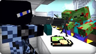 видео: Откуда их столько лезет? [ЧАСТЬ 2] Зомби апокалипсис в майнкрафт! - (Minecraft - Сериал)