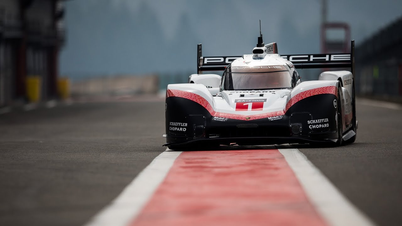 The 919 Tribute On Tour First Stop Spa Porsche