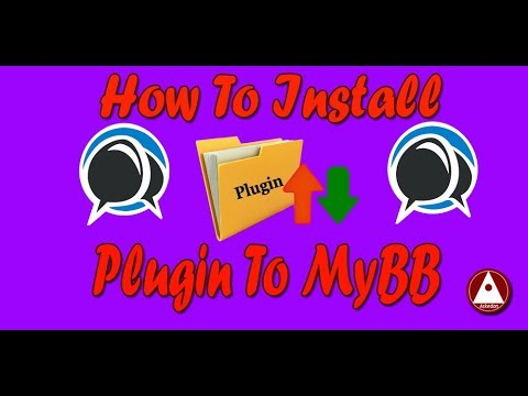 How To Install/Upload/Add Plugin To MyBB Forum