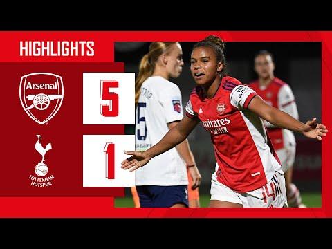 HIGHLIGHTS |  Arsenal vs Tottenham Hotspur (5-1) |  Iwabuchi, Wubben-Moy, Foord (2), Parris