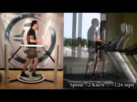 Cyberith Virtualizer VS Classic Treadmill