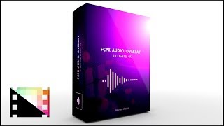 FCPX Audio Overlay DJ Lights 4K - Audio Reactive Flares for Final Cut Pro X   Pixel Film Studios
