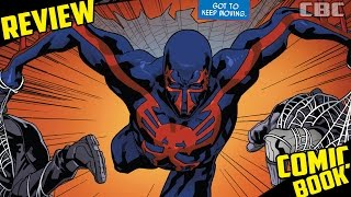 """Spider-Man 2099 #10 """"Locked up"""" Review"""